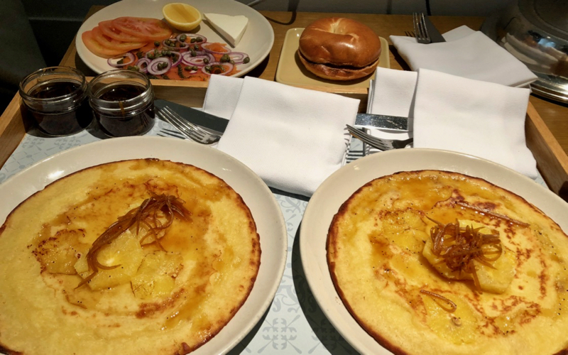 Andaz 5th Avenue Lemon Souffle Pancakes