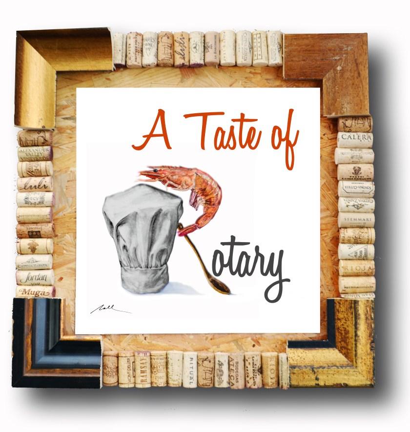 A Taste of Rotary logo designed by NALL