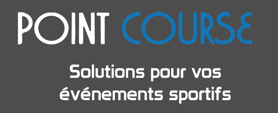 Pointcourse logo et catchline