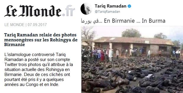 Image result for Tariq Ramadan le monde