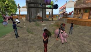 barbie on pig_001