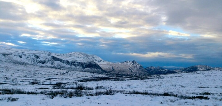 Ørskogfjellet i vinterdrakt