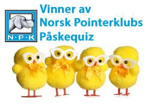 Vinnere av NPKs påskequiz 2014