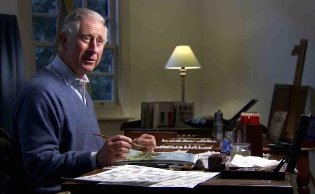 La Peinture Prince Charles D Angleterre Plumes