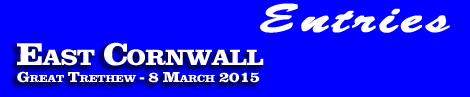 East Cornwall Point-To-Point entries and form, Great Trethew, 8th March 2015