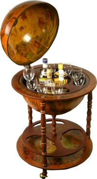 How to Build How To Make A Globe Liquor Cabinet PDF Plans