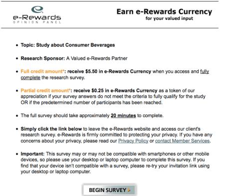 E Rewards Invitation for nice invitation layout