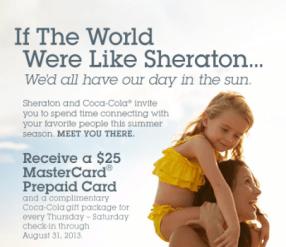 Sheraton Coke Promo
