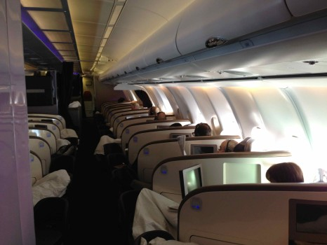 Virgin Atlantic Upper Class Flight37