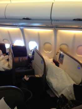 Virgin Atlantic Upper Class Flight41