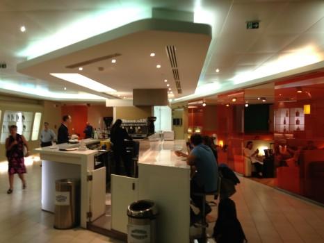 Alitalia Lounge Rome Giotto Lounge17