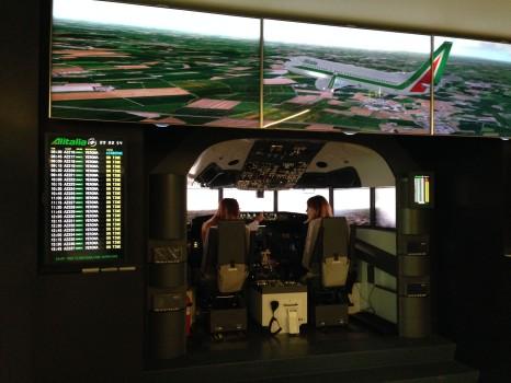 Alitalia T1 Lounge FCO2