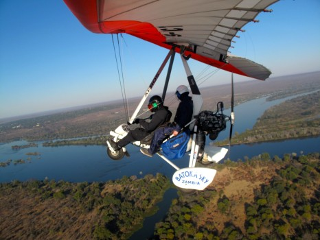Microflight Microlight Batoka Sky Zambia Victoria Falls30