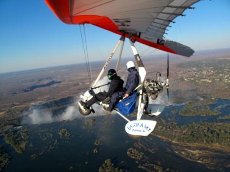 Microflight Microlight Batoka Sky Zambia Victoria Falls47