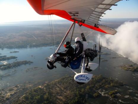 Microflight Microlight Batoka Sky Zambia Victoria Falls73