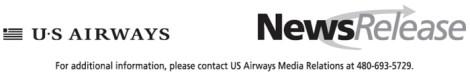 US Airways Letterhead
