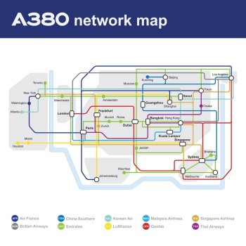 A380 Map