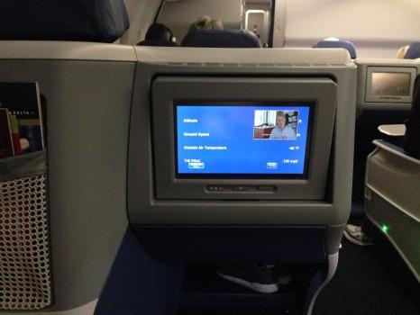 Delta JFK Rome FCO Trip Report B767-30012