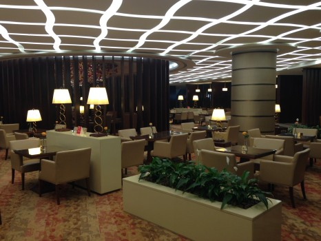 Emirates A380 Lounge  First Class Lounge at Concourse A in Dubai06