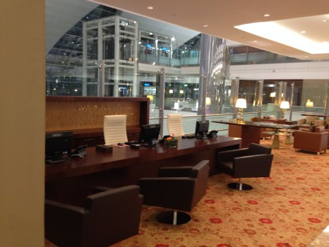 Emirates A380 Lounge  First Class Lounge at Concourse A in Dubai21