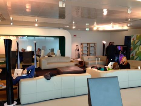 Alitalia T1 Lounge FCO Rome05