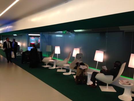 Alitalia T1 Lounge FCO Rome08