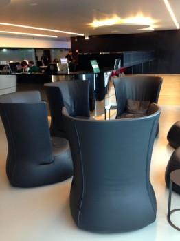 Alitalia T1 Lounge FCO Rome23
