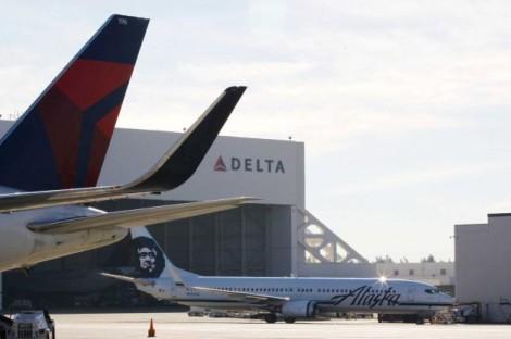 Delta & Alaska Airlines