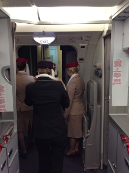 Emirates A380 First Class Shower57