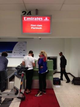 Emirates First Class Malé (MLE) - DXB B777-200LR01