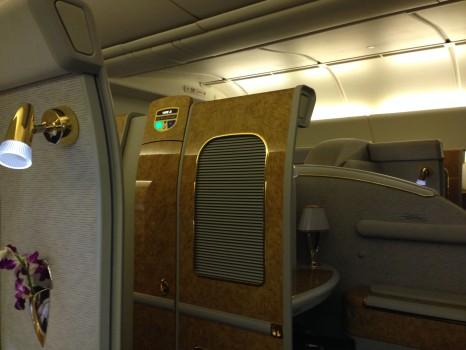 Emirates First Class Malé (MLE) - DXB B777-200LR06