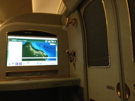 Emirates First Class Malé (MLE) - DXB B777-200LR16