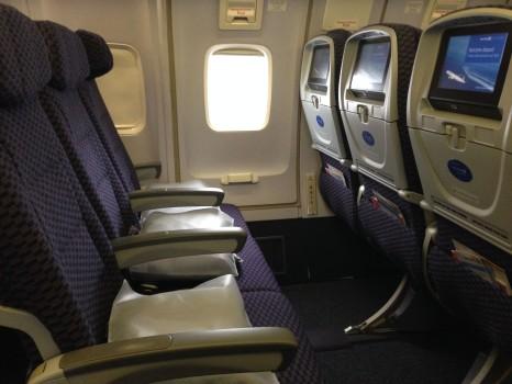 United JFK-SFO Economy Plus10