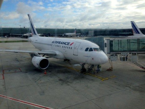 Air France FCO-CDG Business19