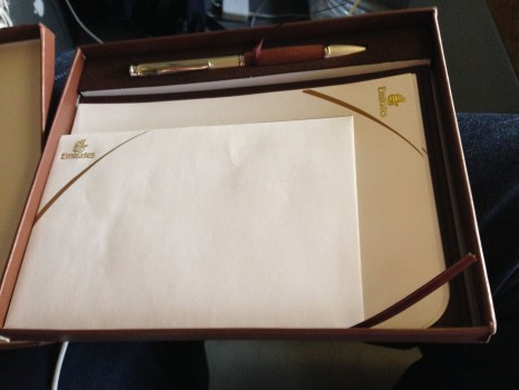 Emirates First Class 777 MXP-JFK11