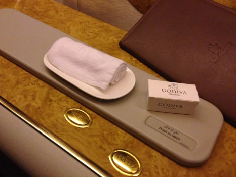 Emirates First Class 777 MXP-JFK70