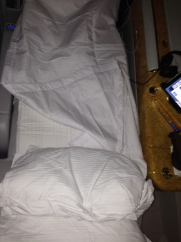 Emirates First Class 777 MXP-JFK73