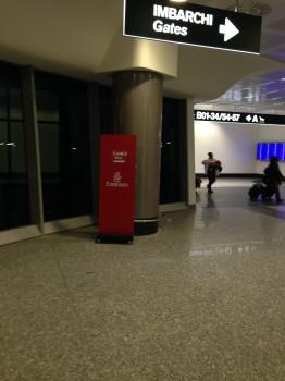 Emirates First Class DXB-MXP Dubai Milan 77754