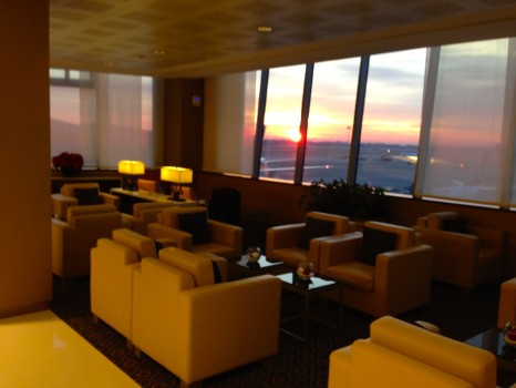 Emirates Lounge Milan MXP11