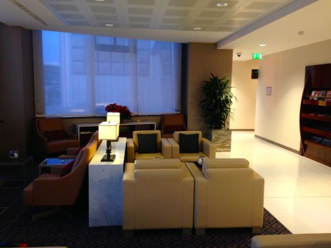 Emirates Lounge Milan MXP14