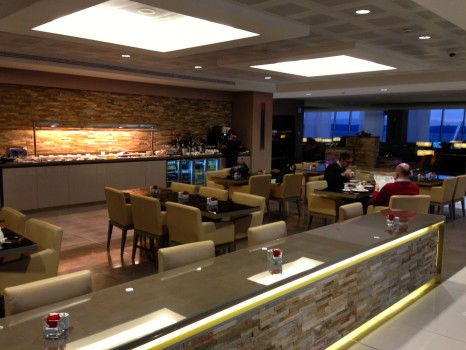 Emirates Lounge Milan MXP15