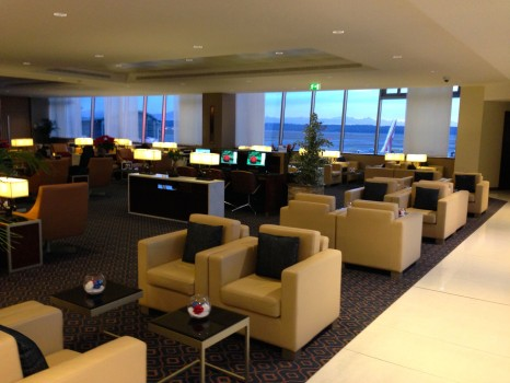 Emirates Lounge Milan MXP16