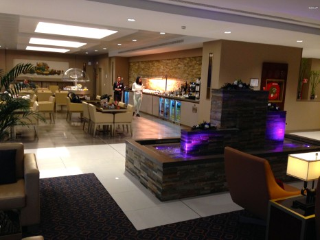 Emirates Lounge Milan MXP18