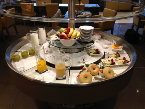 Emirates Lounge Milan MXP45