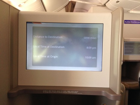 Asiana Airlines Trip Report Business Class ICN-JFK B777-300ER18