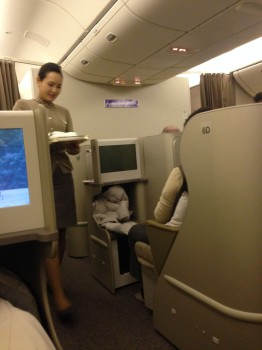 Asiana Airlines Trip Report Business Class ICN-JFK B777-300ER36