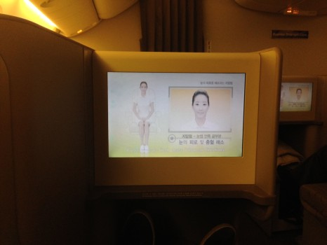 Asiana Airlines Trip Report Business Class ICN-JFK B777-300ER44