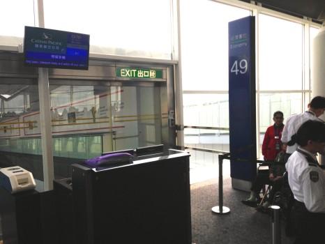 Cathay Pacific Trip Report Hong Kong (HKG) to Bangkok (BKK) A34001