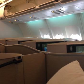 Cathay Pacific Trip Report Hong Kong (HKG) to Bangkok (BKK) A34007
