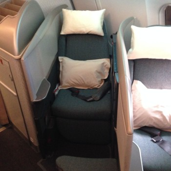 Cathay Pacific Trip Report Hong Kong (HKG) to Bangkok (BKK) A34008